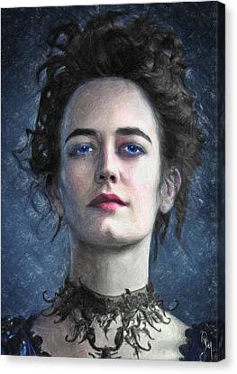 Vanessa Ives Canvas Print by Taylan Soyturk