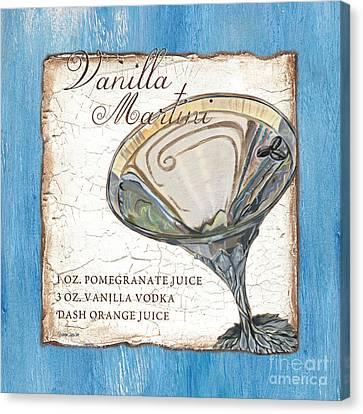 Vanilla Martini Canvas Print by Debbie DeWitt