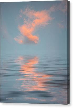 Vapor 2 Canvas Print by Jerry McElroy