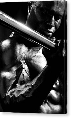 Vascularity Canvas Print by Val Black Russian Tourchin