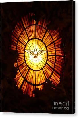 Vatican Window Canvas Print by Carol Groenen