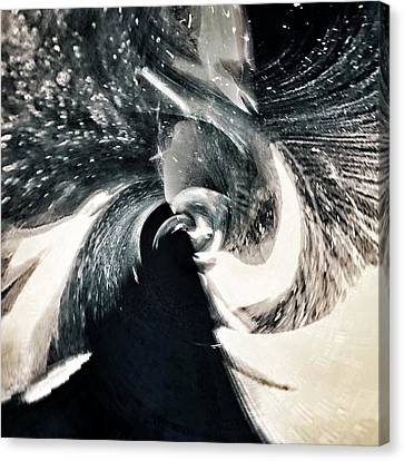 Velocity  Canvas Print by Philip Openshaw