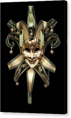 Venetian Mask Canvas Print by Fabrizio Troiani