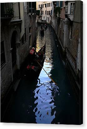 Venice-3 Canvas Print by Valeriy Mavlo