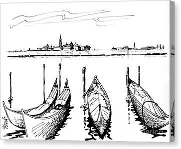 Venice Canvas Print by Andrew Cravello