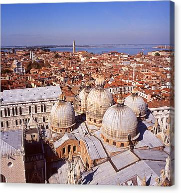 Venice From Above Canvas Print by Paul Cowan
