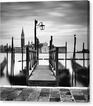 Venice Gondolas IIi Canvas Print by Nina Papiorek