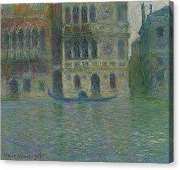 Venice, Palazzo Dario Canvas Print by Claude Monet