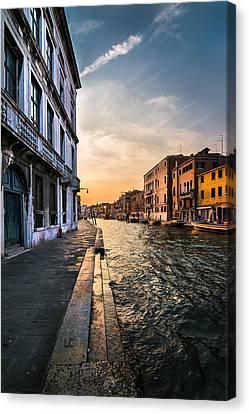 Venice Sunset Canvas Print by Ivan Vukelic