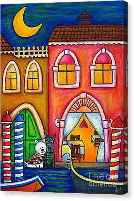 Venice Valentine Canvas Print by Lisa  Lorenz