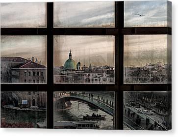 Venice Window Canvas Print by Roberto Marini