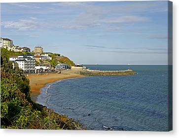 Ventnor Bay Canvas Print by Rod Johnson