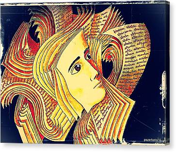 Verbal And Non Verbal Language Canvas Print by Paulo Zerbato