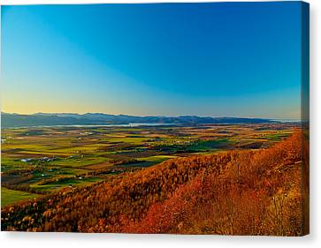 Vermont View Canvas Print by Mike Horvath