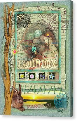 Vernal Equinox Canvas Print by Ernestine Grindal