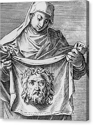 Veronica's Cloth Canvas Print by Italian School