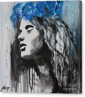 Vesna Canvas Print by Jindra Noewi