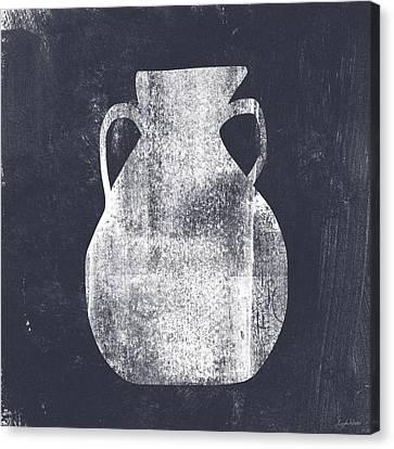 Vessel 5- Art By Linda Woods Canvas Print by Linda Woods