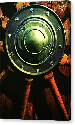 Vessels Wheel Canvas Print by Karol Livote