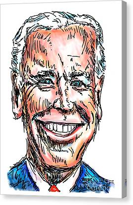 Vice President Joe Biden Canvas Print by Robert Yaeger