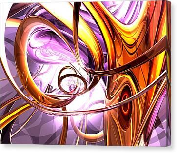 Vicious Web Abstract Canvas Print by Alexander Butler