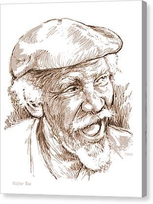 Victor Boa Canvas Print by Greg Joens
