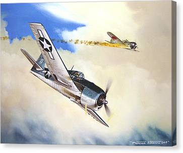 Victory For Vraciu Canvas Print by Marc Stewart