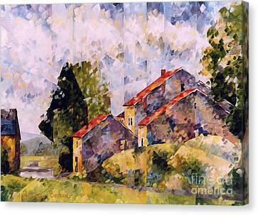 Viegeay Anthisnes  Canvas Print by Beatrice BEDEUR