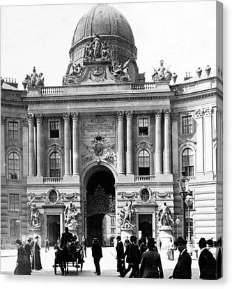 Vienna Austria - Imperial Palace - C 1902 Canvas Print by International  Images