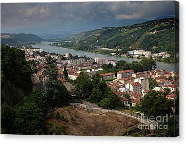 Vienne, France Canvas Print by Timothy Johnson