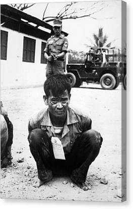 Vietnam War, Viet Cong, Heavily Canvas Print by Everett