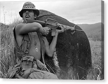 Vietnam War, Vietnam, Specialist. 4 Canvas Print by Everett