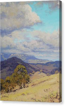 View Across The Kanimbla Valley Australia Canvas Print by Graham Gercken