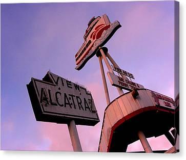 View Alcatraz Canvas Print by Elizabeth Hoskinson