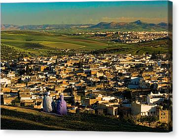 View Ancient Fes Morroco Canvas Print by David Smith
