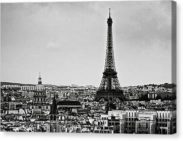 View Of City Canvas Print by Sbk_20d Pictures