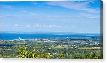 View Of Collingwood From The Top Canvas Print by Panoramic Images