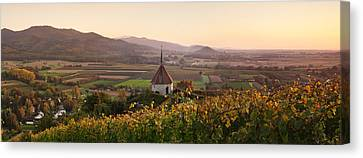View Of Olbergkapelle Chapel Canvas Print by Panoramic Images