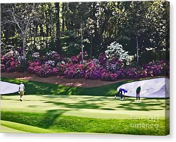 Vijay At Amen Corner Canvas Print by David Bearden