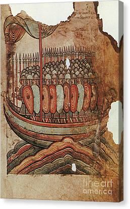 Viking Invasion 919 Canvas Print by Granger