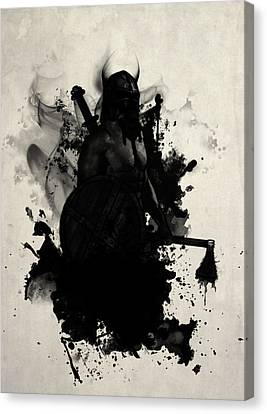 Viking Canvas Print by Nicklas Gustafsson