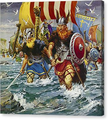 Vikings Canvas Print by Jack Keay