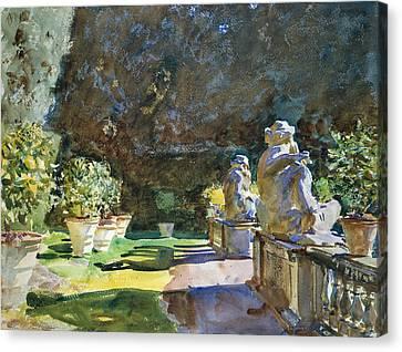 Villa Di Marlia Lucca Canvas Print by John Singer Sargent