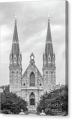 Villanova University St. Thomas Of Villanova Church Canvas Print by University Icons