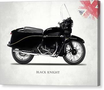 Vincent Black Knight Canvas Print by Mark Rogan