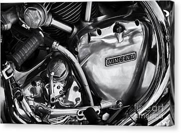 Vincent Engine Detail Canvas Print by Tim Gainey