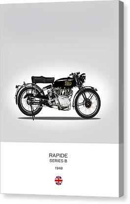 Vincent Hrd Rapide 1948 Canvas Print by Mark Rogan