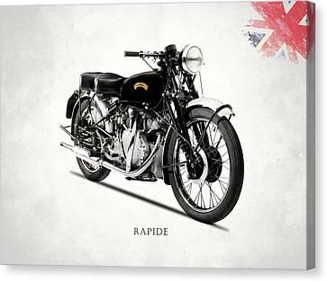 Vincent Hrd Rapide Canvas Print by Mark Rogan