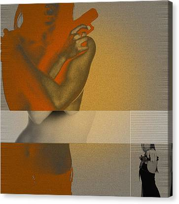 Vindication Canvas Print by Naxart Studio