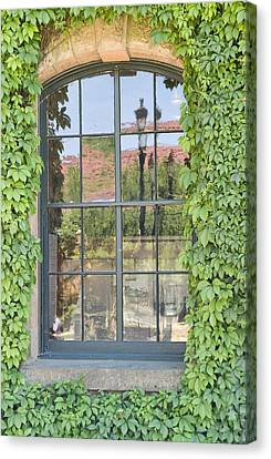 Vined Window II Canvas Print by Mark Harrington